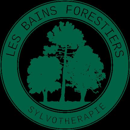logo les bains forestiers sylvotherapie